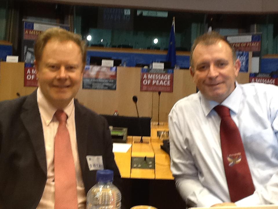 Jon Davey and Gordon Radley were guest of the Ahmadiyya Muslim Community