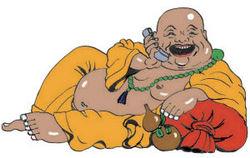 smile and dial buddha