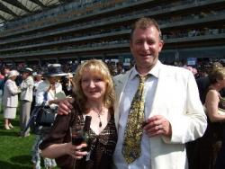 Royal Ascot Jon and Ali