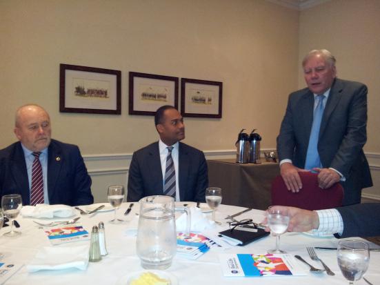 Lunch with Adam Afriyie MP