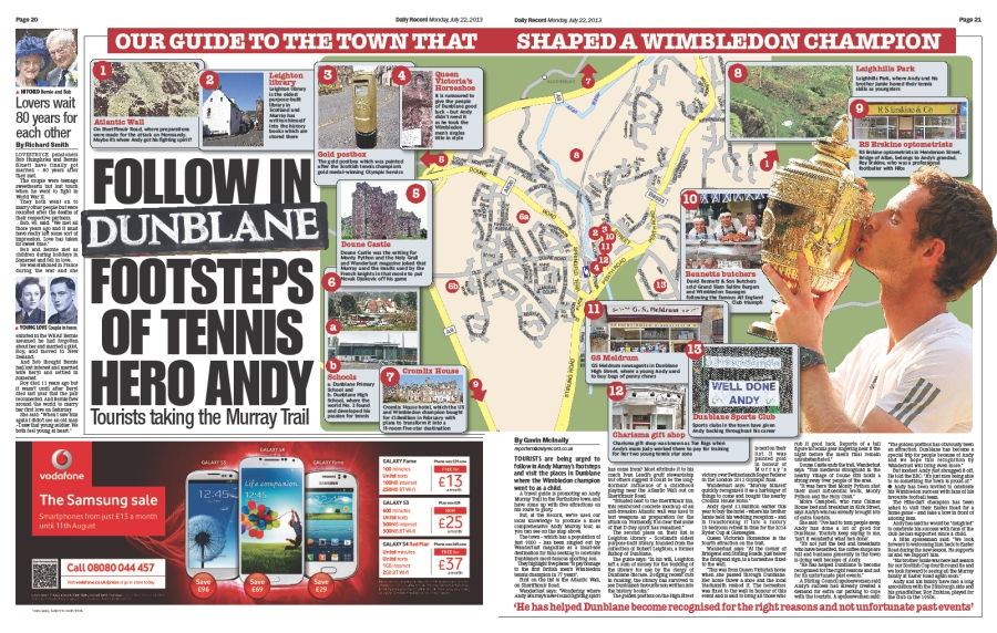 andy murray map of dunblane