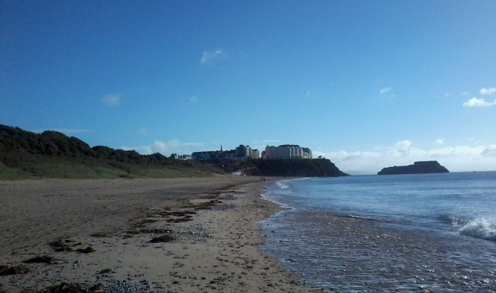 tenby beach town