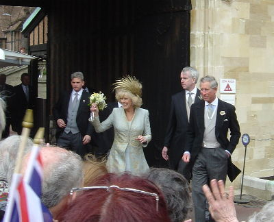 Charles and Camilla's wedding