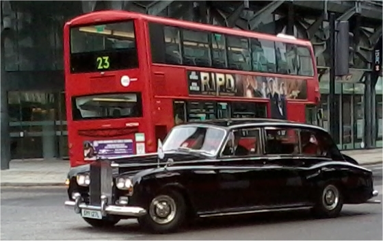 lord mayor london bus