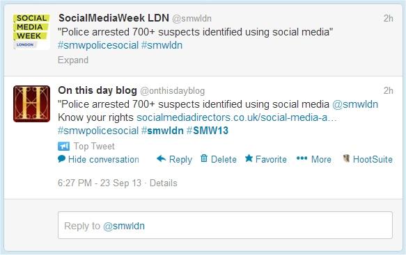 social media week top tweet
