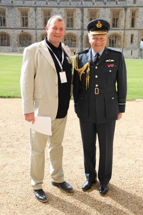 jon davey with ian macfadyen obe