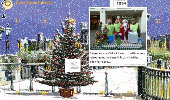 windsor and eton advent calendar santa