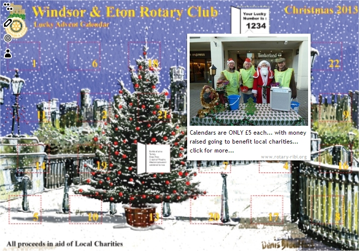 windsor and eton advent calendar santa
