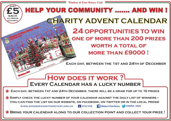 advent calendar poster