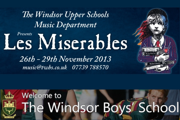 les miserables windsor boys school