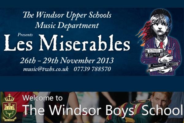 les miserables windsor boys school