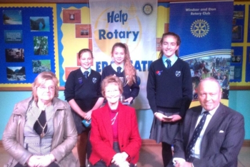 rotary youth speaks winners with judges