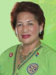 Linda Winters, District Governor Rotary Club of Baguio, RI District 3790