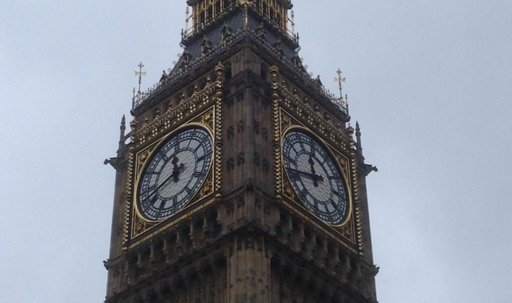 big ben clock tower parliament london