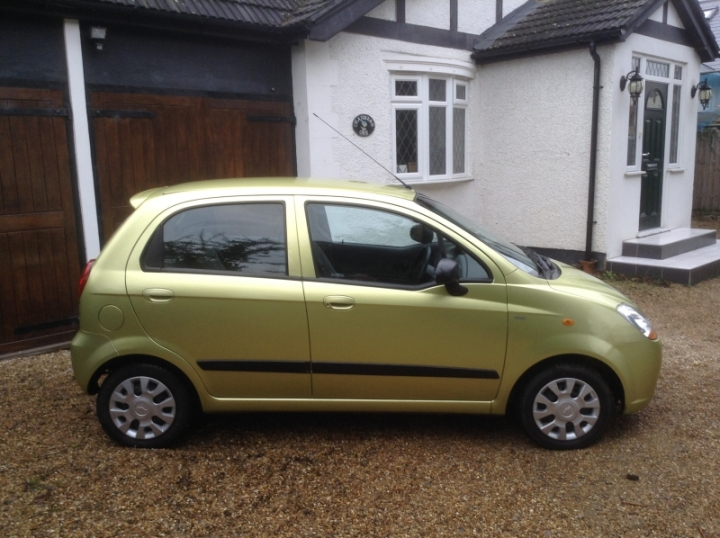 Chevrolet Matiz 5Dr Hatch 1 litre drivers side