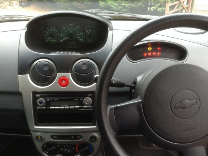 Chevrolet Matiz 5Dr Hatch 1 litre front dashboard