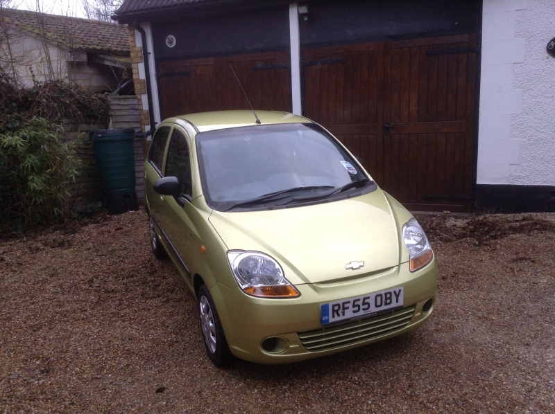 Chevrolet Matiz 5Dr Hatch 1 litre front view