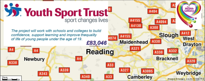 health lottery youth sport trust