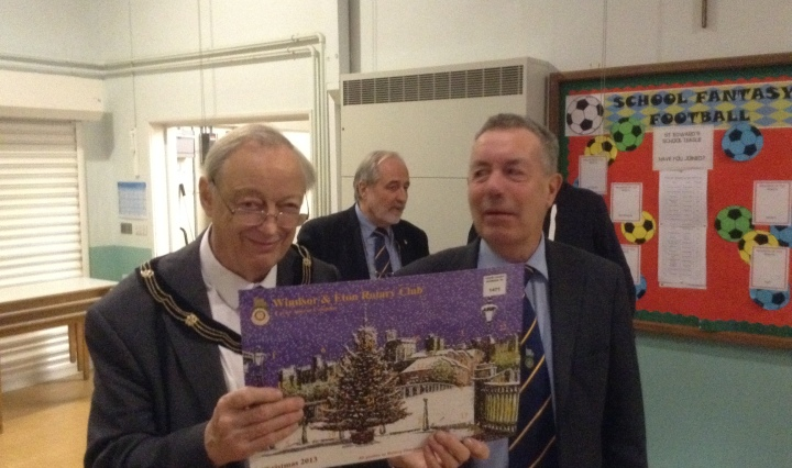 Rotary Advent Calendar Deputy Mayor