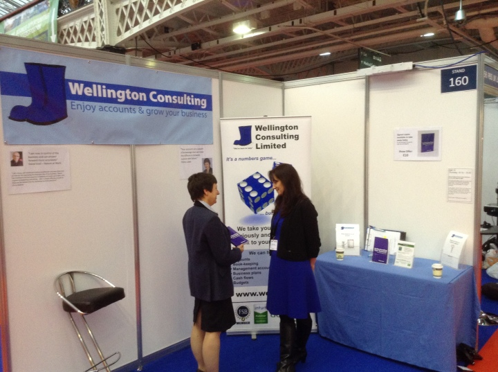 The Business Show stand 160