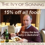 the ivy of sonning best curry in berkshire