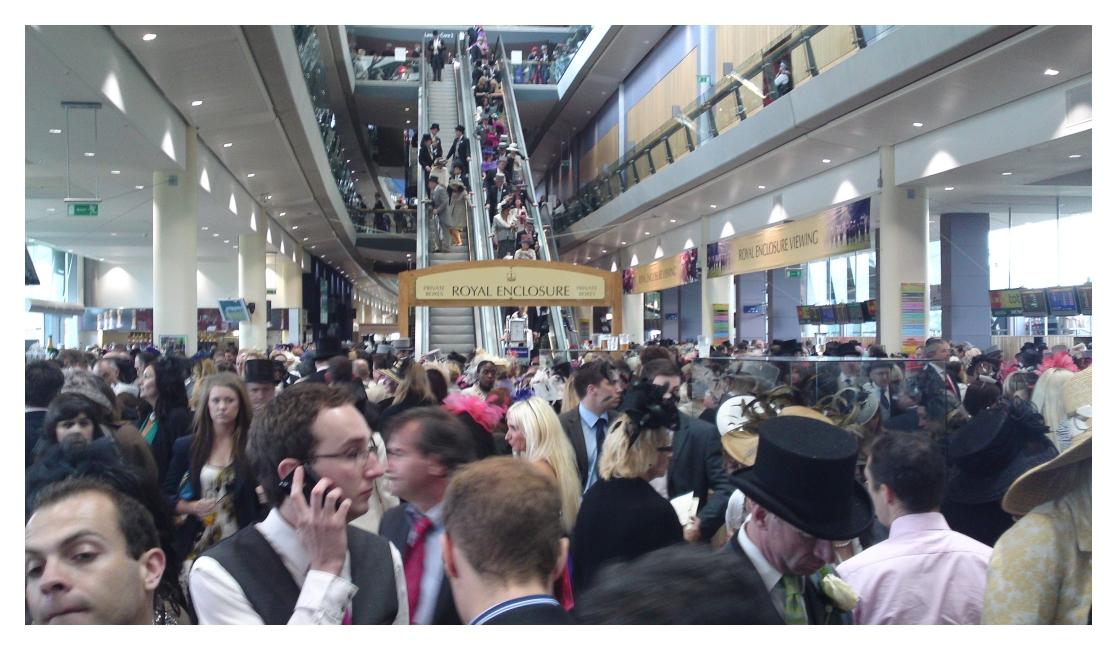 ascot royal crowds 2011