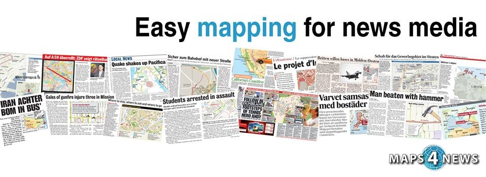 easy mapping for news media