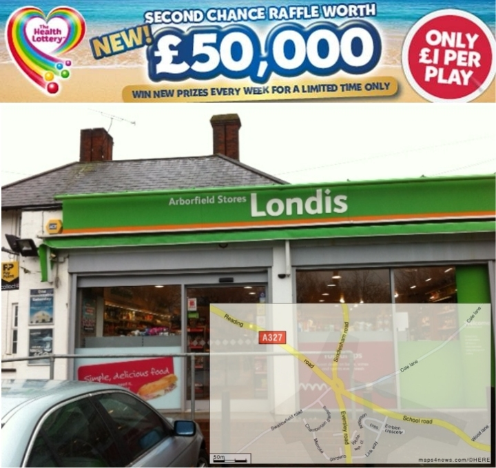 health lottery winner arborfield stores