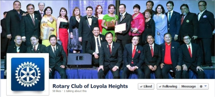Rotary Club of Loyola Heights facebook