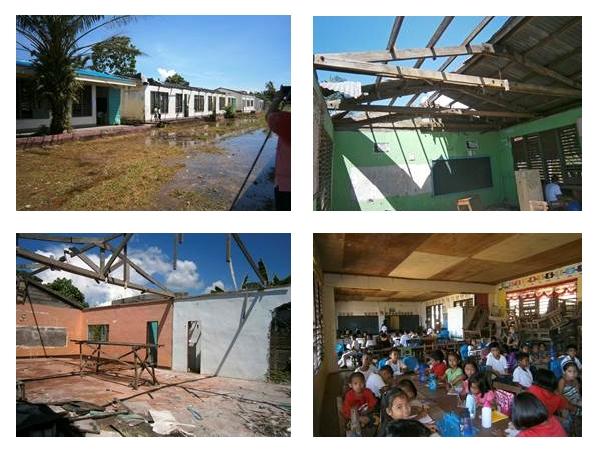 school in Sagkahan near Tacloban