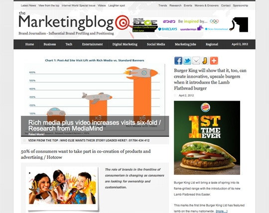 the marketing blog free entry