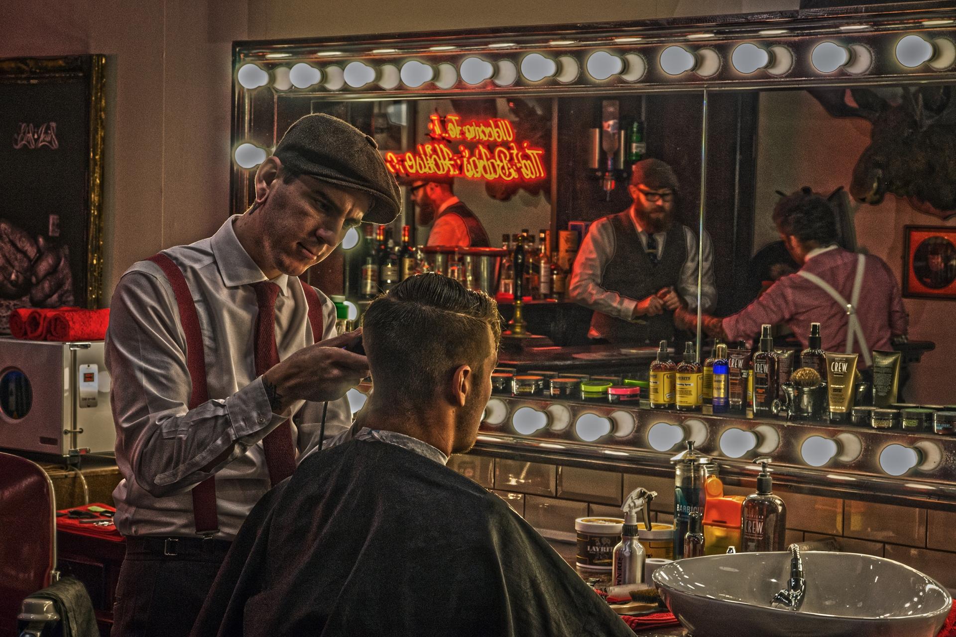 Barber barber jazzmouse