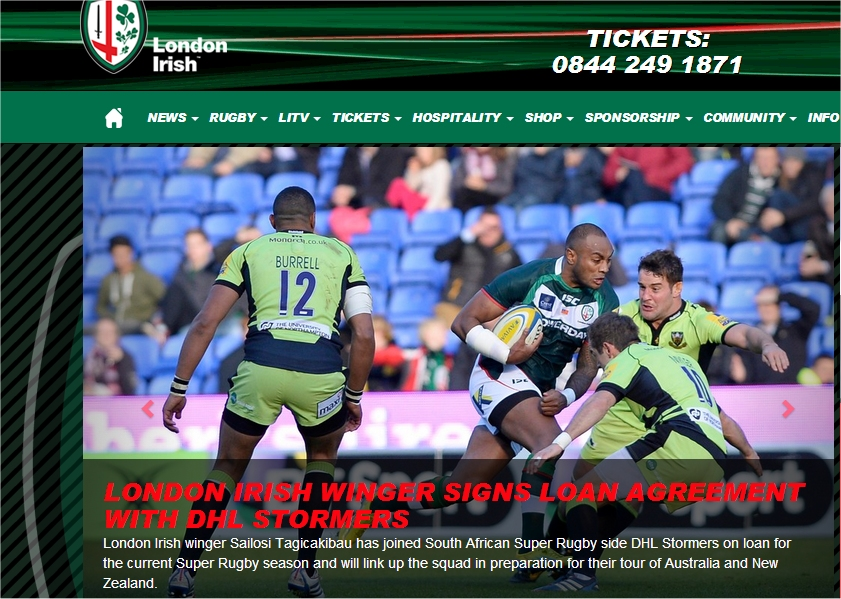 london irish rugby networking event