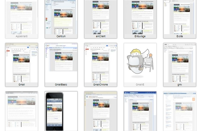 responsive email newsletters