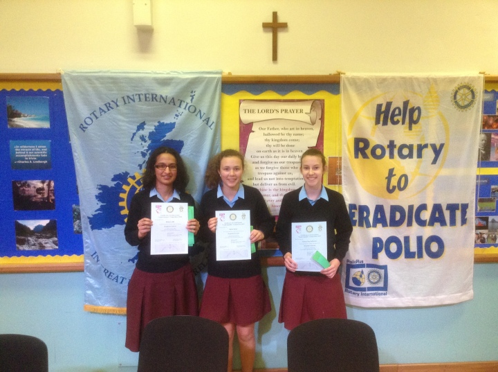 Rotary Youth Speaks Zone Final Brigidine