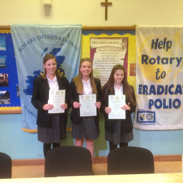 Rotary Youth Speaks Zone Final Charters