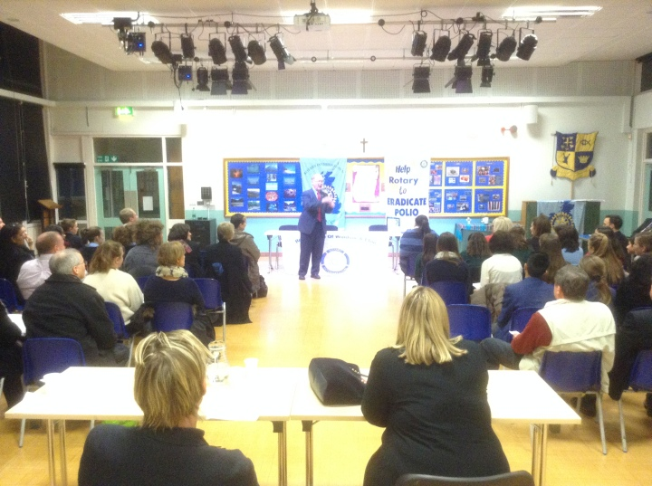 Rotary Youth Speaks Zone Final District Governor