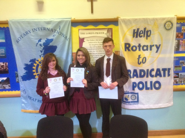 Rotary Youth Speaks Zone Final Harefield Academy