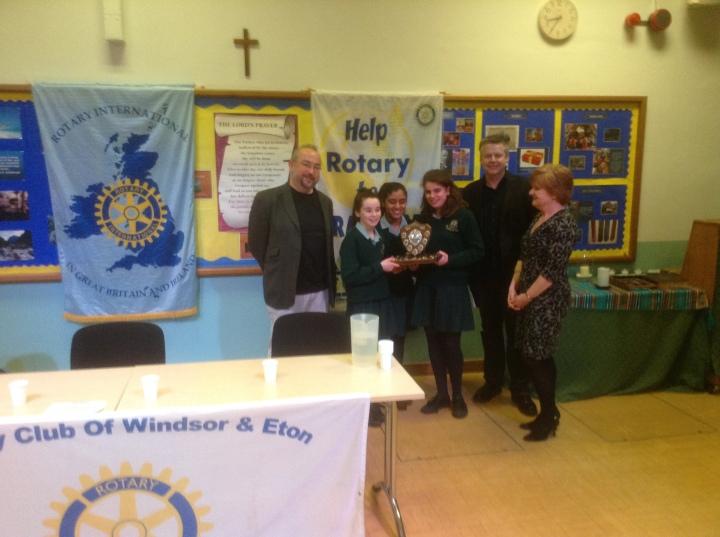 Rotary Youth Speaks Zone Final Intermediate Winners