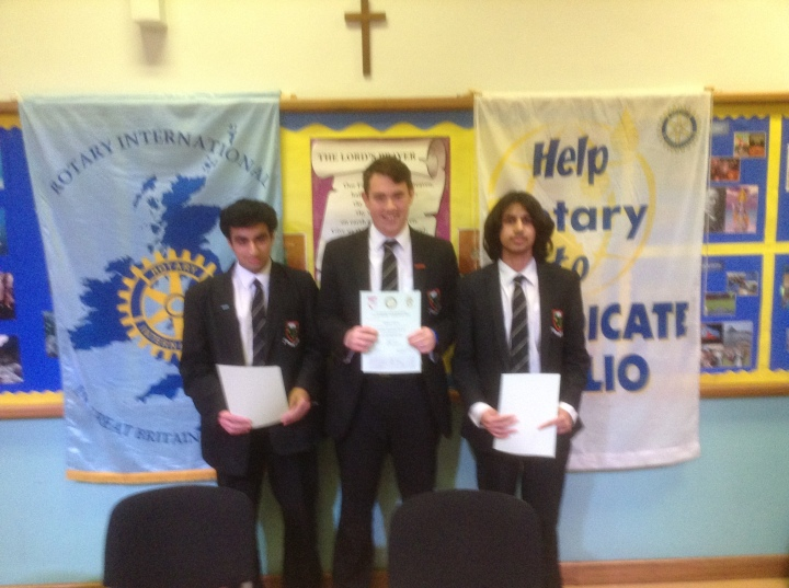 Rotary Youth Speaks Zone Final Langley Grammar