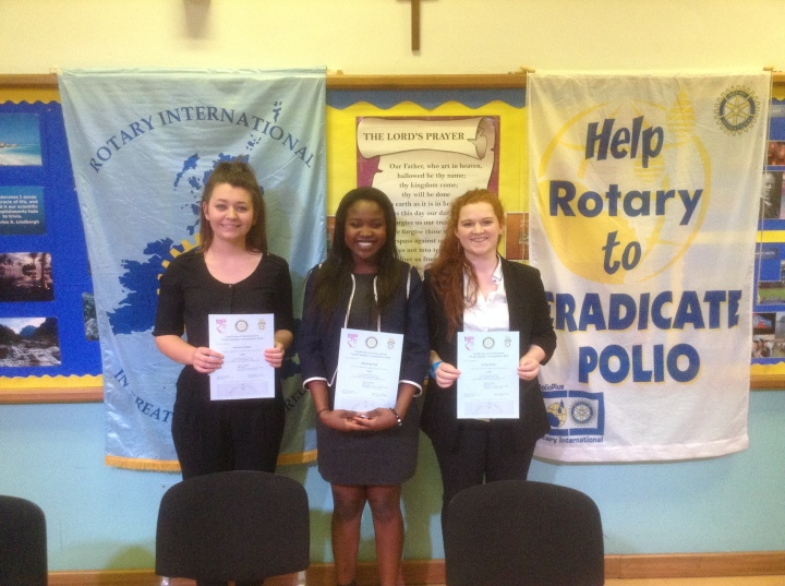 Rotary Youth Speaks Zone Final LVS