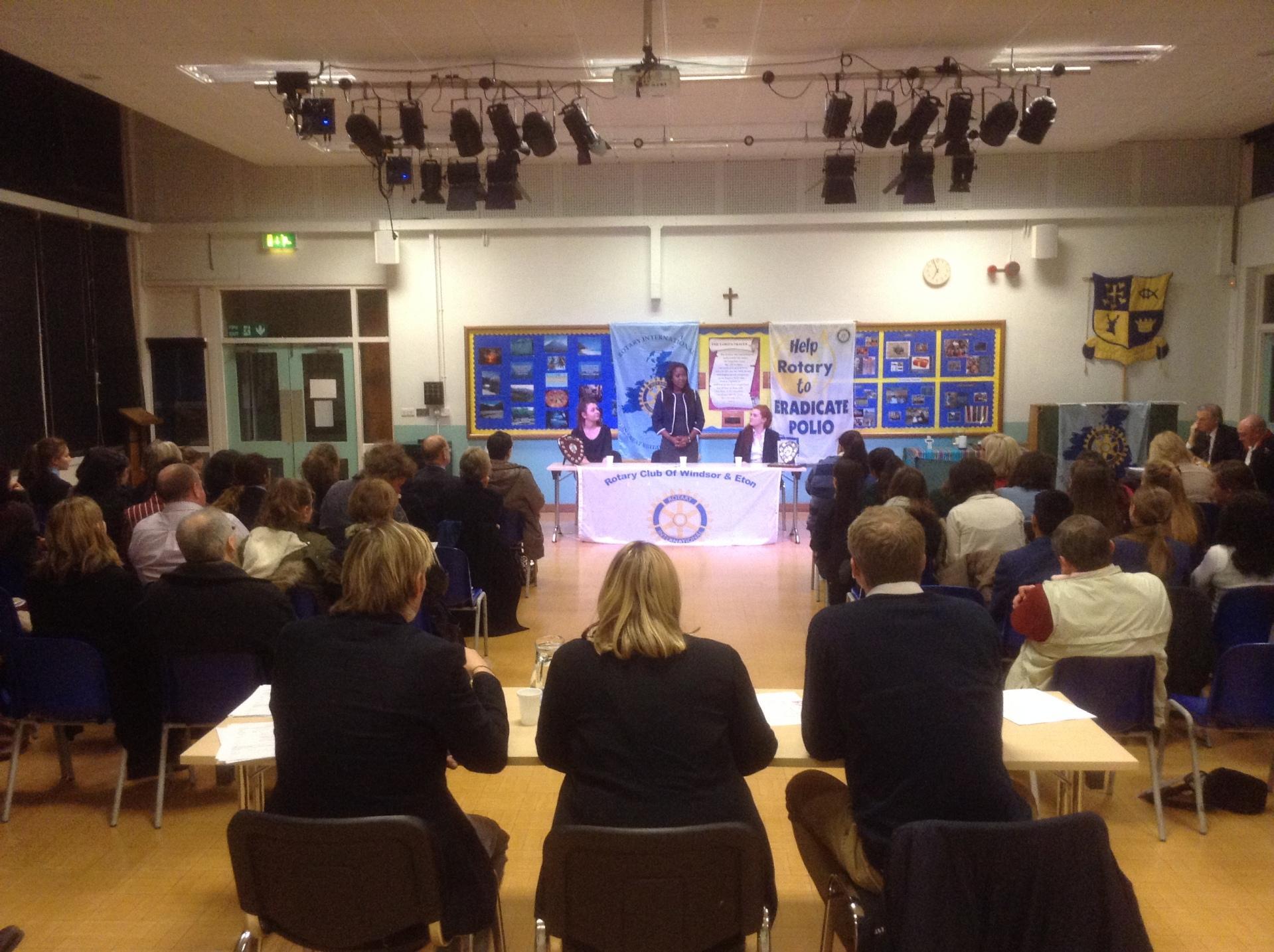 Rotary Youth Speaks Zone Final Seniors