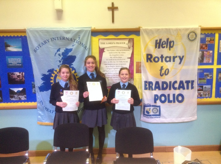 Rotary Youth Speaks Zone Final St Edwards