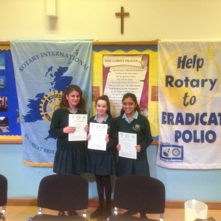 Rotary Youth Speaks Zone Final St Helens