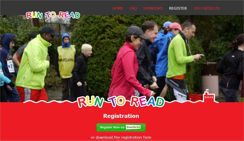 run to read