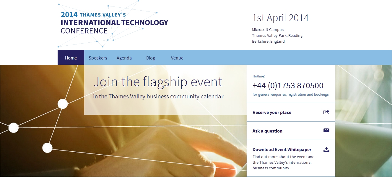 2014 thames valley international technology conference