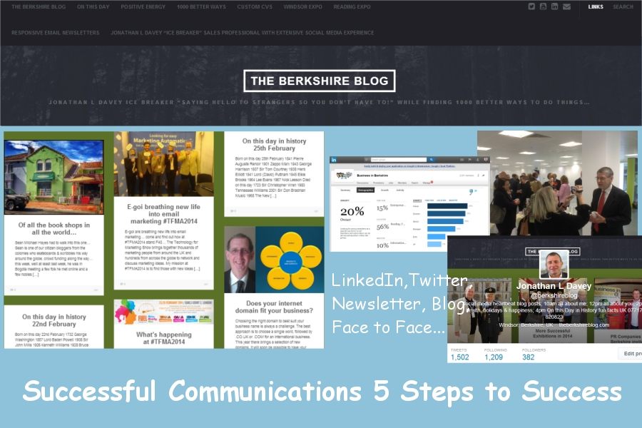 5 steps to successful communications jonathan l davey