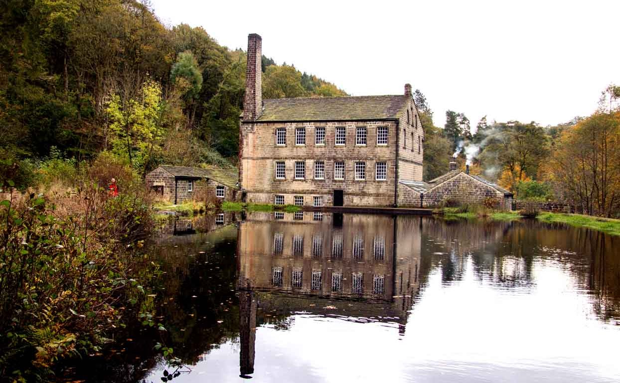Gibson Mill at Hardcastle Crags