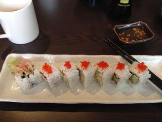 Jazzmouse Soft shell crab sushi