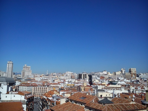 madrid city scape